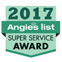 Angie's List 2017 Super Service Award winner