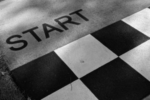 start, preparing to move
